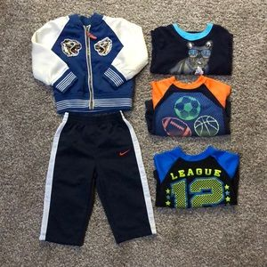 Boys 12 month sporty bundle